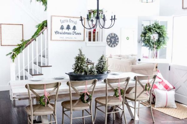 Old Salt Farm Christmas Home Tour 5 740x490