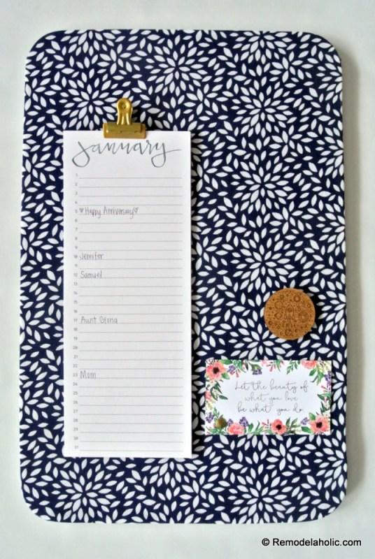 Handlettered Printable Perpetual Calendars For Birthdays And Anniversaries #remodelaholic
