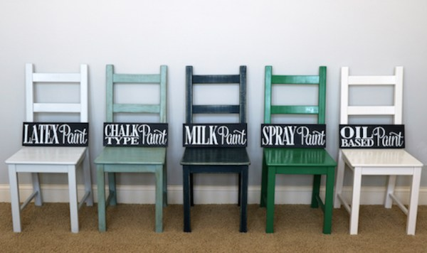 Painting Furniture Tips For Using 5 Different Types Of Paint