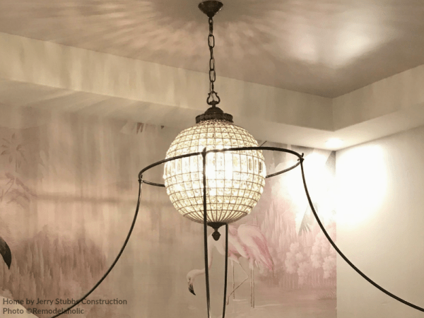 Teen Girls Bedroom With Globe Pendant Light Jerry Stubbs And Tique And Co 2018 Utah Valley Parade Of Homes Featured On Remodelaholic
