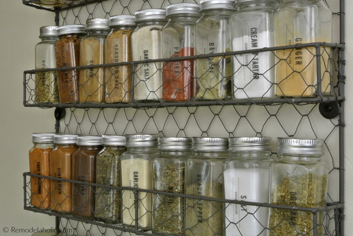 photograph relating to Printable Spice Labels referred to as Remodelaholic Printable Spice Labels for a Revolutionary