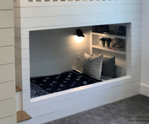 Blue Bandana Bedding For Kids Room Home By Millhaven Homes And Four Chairs Design 2018 Utah Valley Parade Of Homes Featured On Remodelaholic