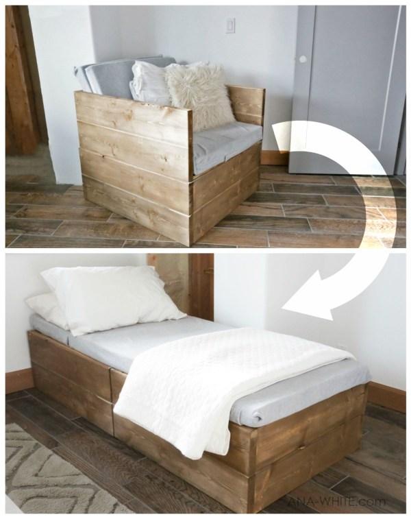 Twin Sleeper Chair Easy Diy Project
