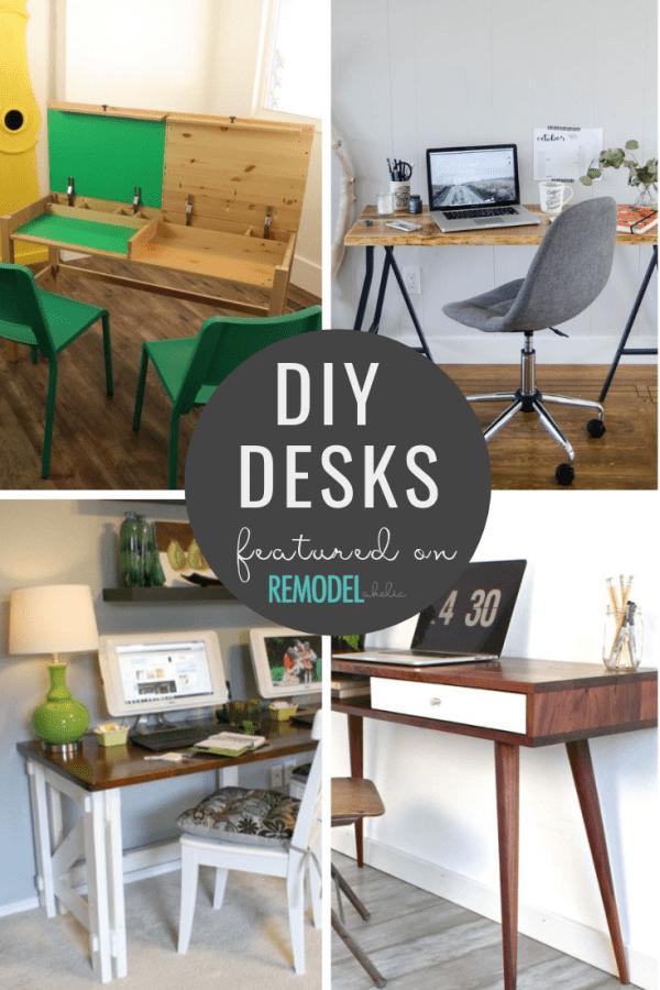 DIY Desks Mini Roundup