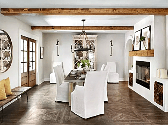 Fixer Upper Ivy House Dining Room, Joanna Gaines