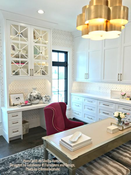 Glam Home Office Shelby Homes, Gatehouse No. 1 Furniture & Design (410).ed