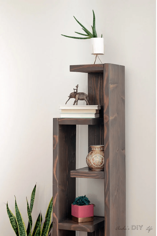 Modern Bookshelf Anika's DIY Life