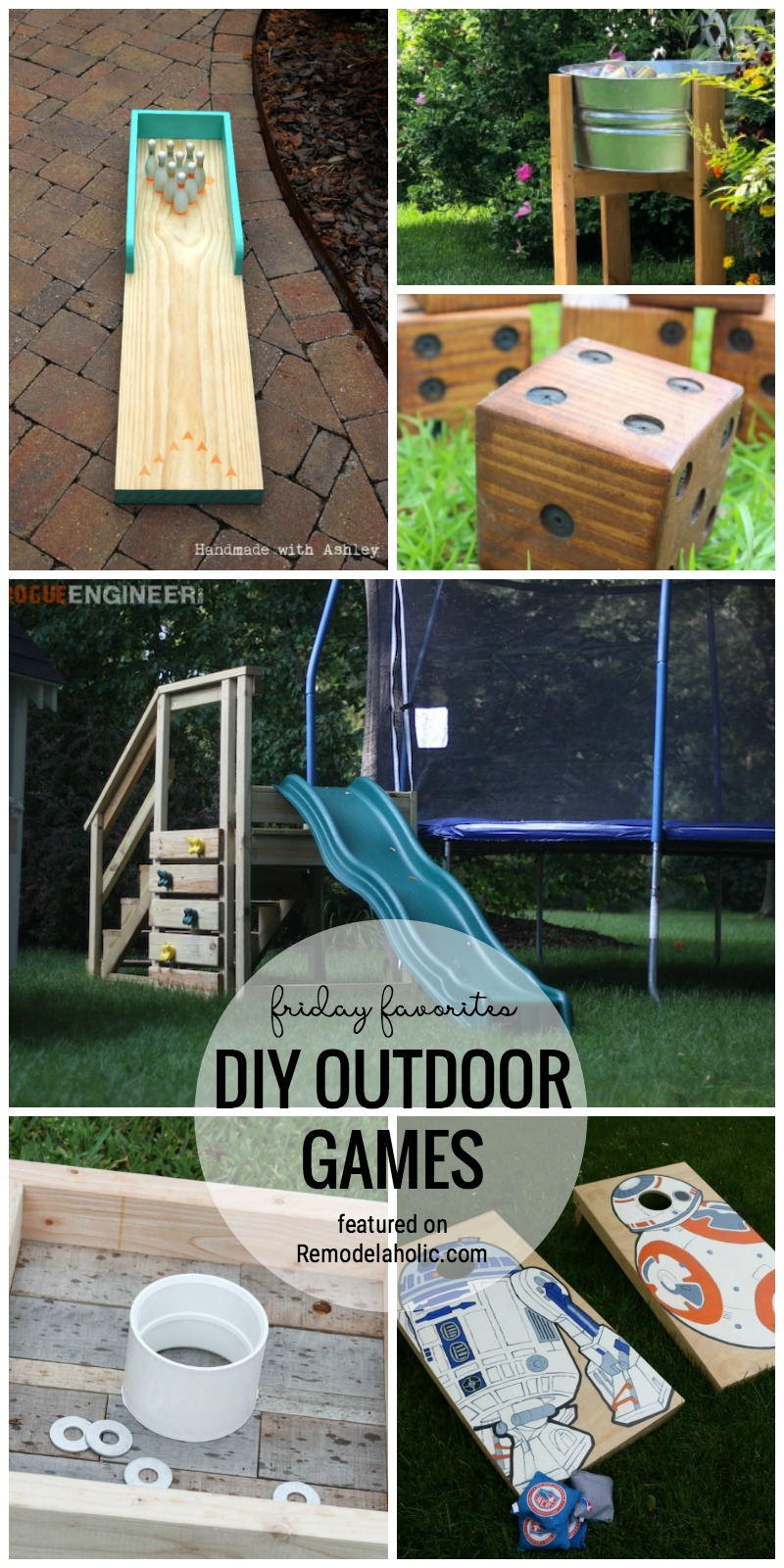 Remodelaholic Friday Favorites Diy Outdoor Games You Can Build