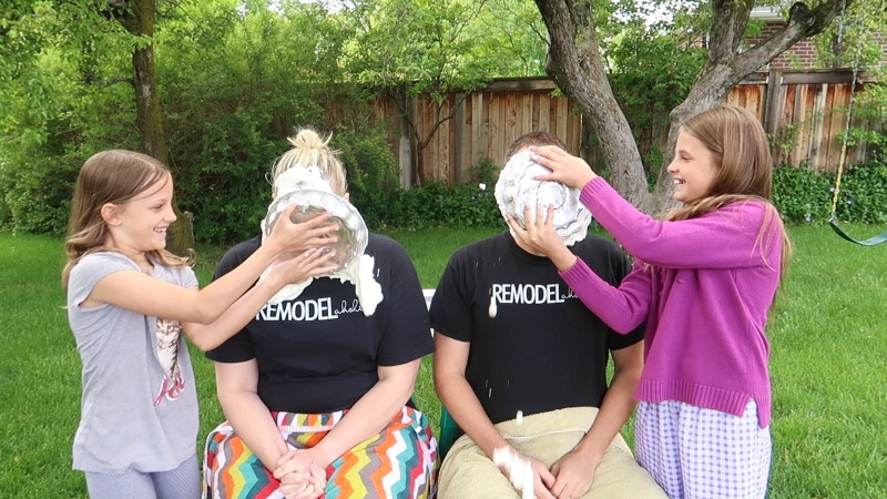 Easy Baby Gender Reveal Idea: Pie In The Face