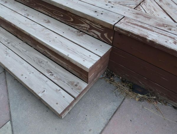 Restore Refinish Redwood Deck With Oil 008