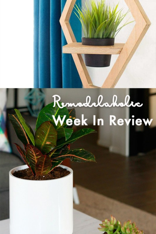 The Easiest DIY Hanging Planter In The World + DIY West Elm Hanging Planter Knock Off