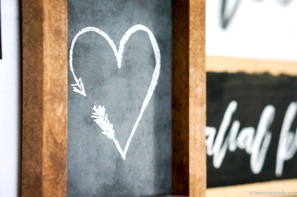 Valentine's Day Heart Art Printable #remodelaholic