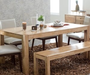Harrison Farmhouse Styled Table At Walmart Featured On Remodelaholic.com