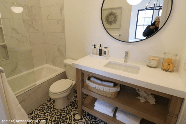 Get This Look Modern Farmhouse Bathroom Design 3