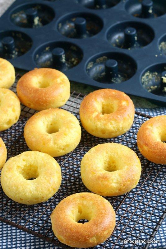 Easy Cake Mix Baked Donut Recipe Remodelaholic