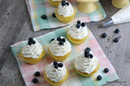 Fresh Lemon Cupcake Recipe, Remodelaholic (1)