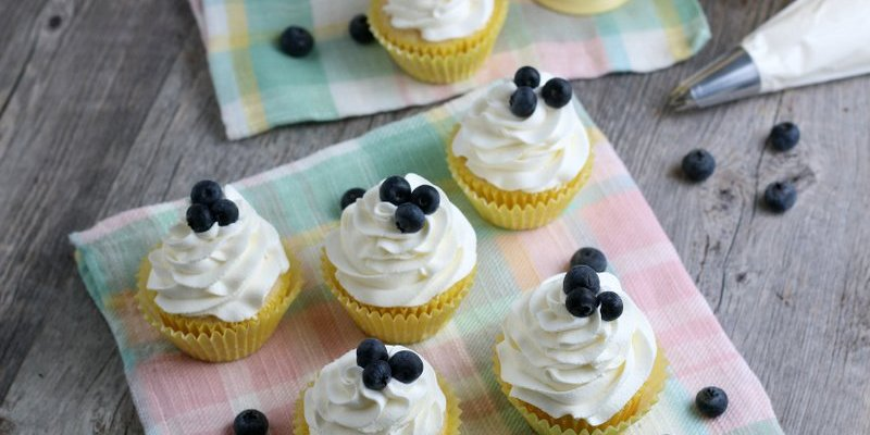 Easy Lemon Cupcakes From Scratch