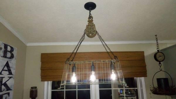 Remodelaholic Fan Photos New Kitchen Light, Repurposed