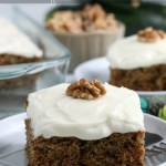 Easy Zucchini Cake Recipe From Scratch, Fresh Zucchini Recipe Remodelaholic