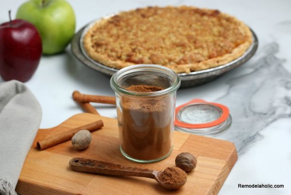 Homemade Apple Pie With Pie Spice From Scratch, Remodelaholic