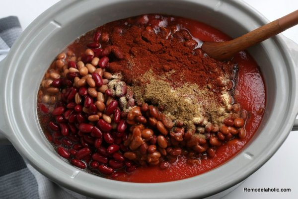 Easy Crockpot Chili Recipe From Remodelaholic