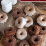 Homemade Apple Cider Donuts With Cinnamon Sugar Glaze, Recipe Remodelaholic