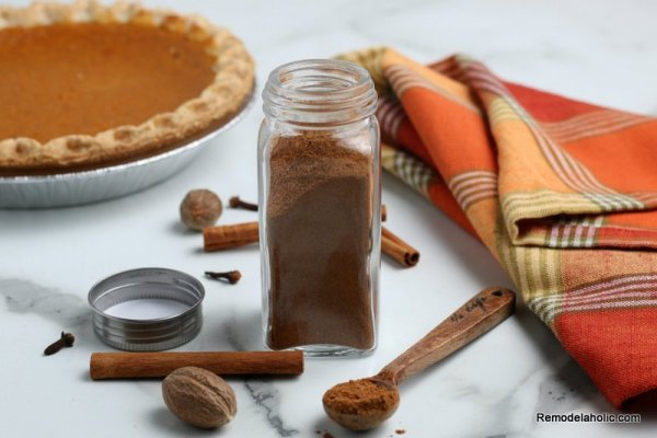 Homemade Pumpkin Pie Spice Blend Recipe, Remodelaholic