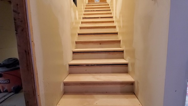 Basement Remodel, Fix Uneven Stairs By Raising Steps, Remodelaholic