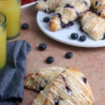 Homemade Blueberry Scones With Fresh Or Frozen Blueberries From Remodelaholic