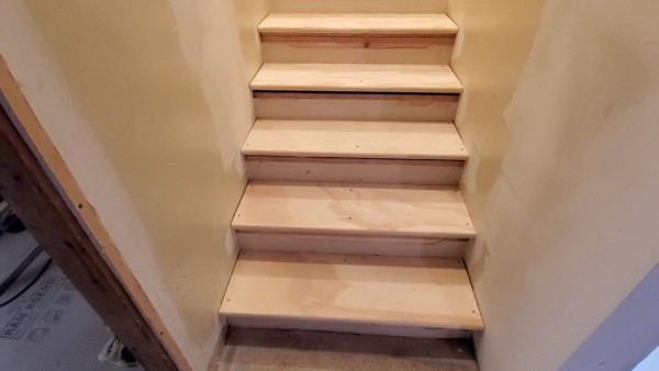 How To Raise Steps To Fix Uneven Stair Rise, Basement Stair Remodel, Remodelaholic