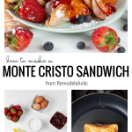 Recipe For Monte Cristo Sandwich From Remodelaholic