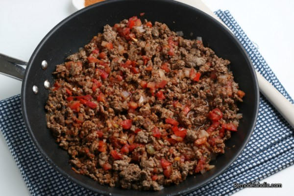 Taco Seasoned Ground Beef For Loaded Nacho Fries From Remodelaholic