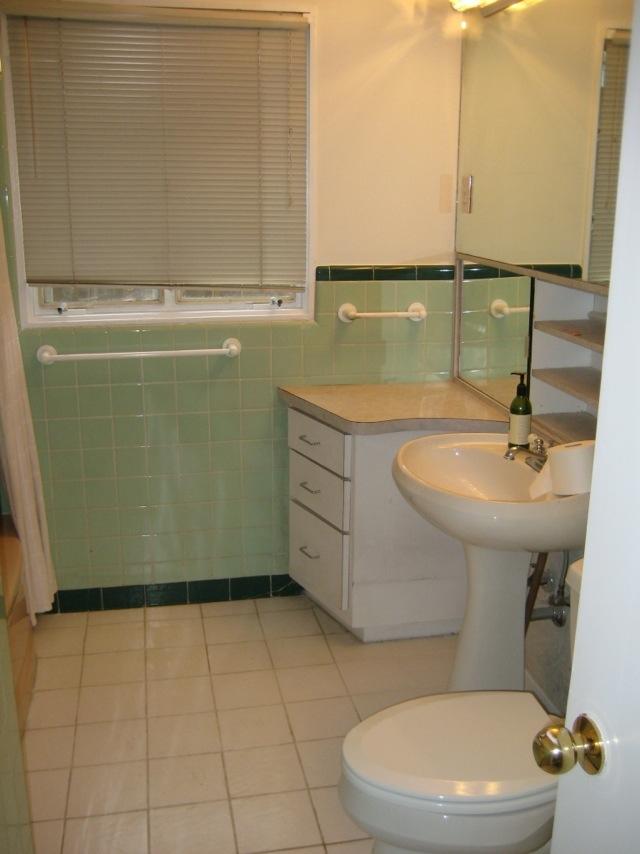 Mid Century Modern Bathroom Reno BeforeAfterRemodelicious