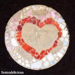 Our DIY Heart Handprint Stepping Stone