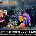 Superheroes vs. Villains Halloween Costumes