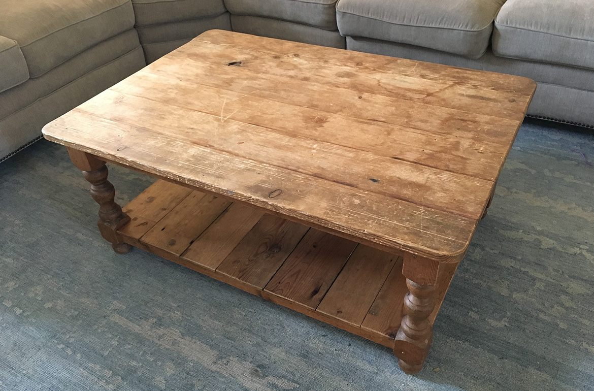 Country Farmhouse Coffee Table Remodelicious