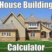Cost to build a house calculator