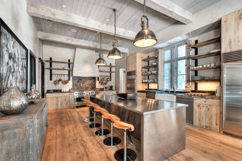 Steel Industrial Kitchen Island Remodeling Cost Calculator