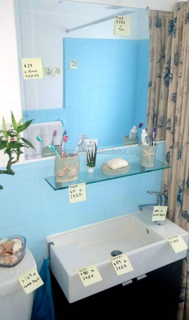 Small Bathroom Remodel For 750 Or Less Remodeling Cost