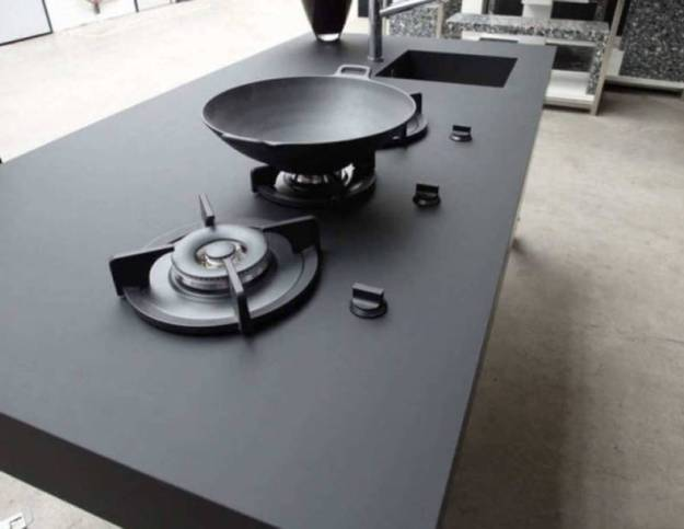 Nanotech Fenix NTM Kitchen Countertops