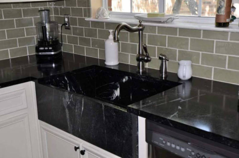 Soapstone Kitchen Sink   Remodeling Cost Calculator