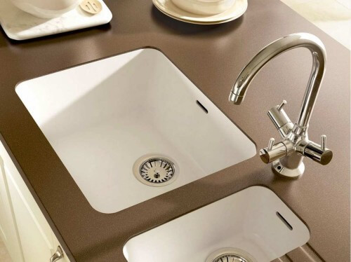 Integrated Solid Surface Kitchen Sink