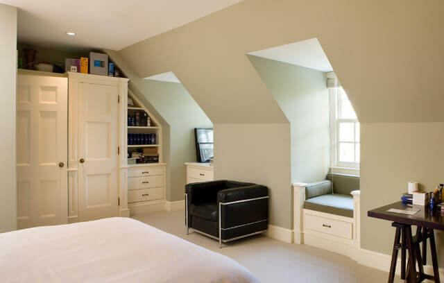 Bedroom dormer addition