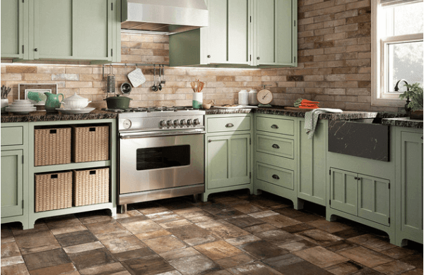 Ceramic Stone Kitchen Floor Tile