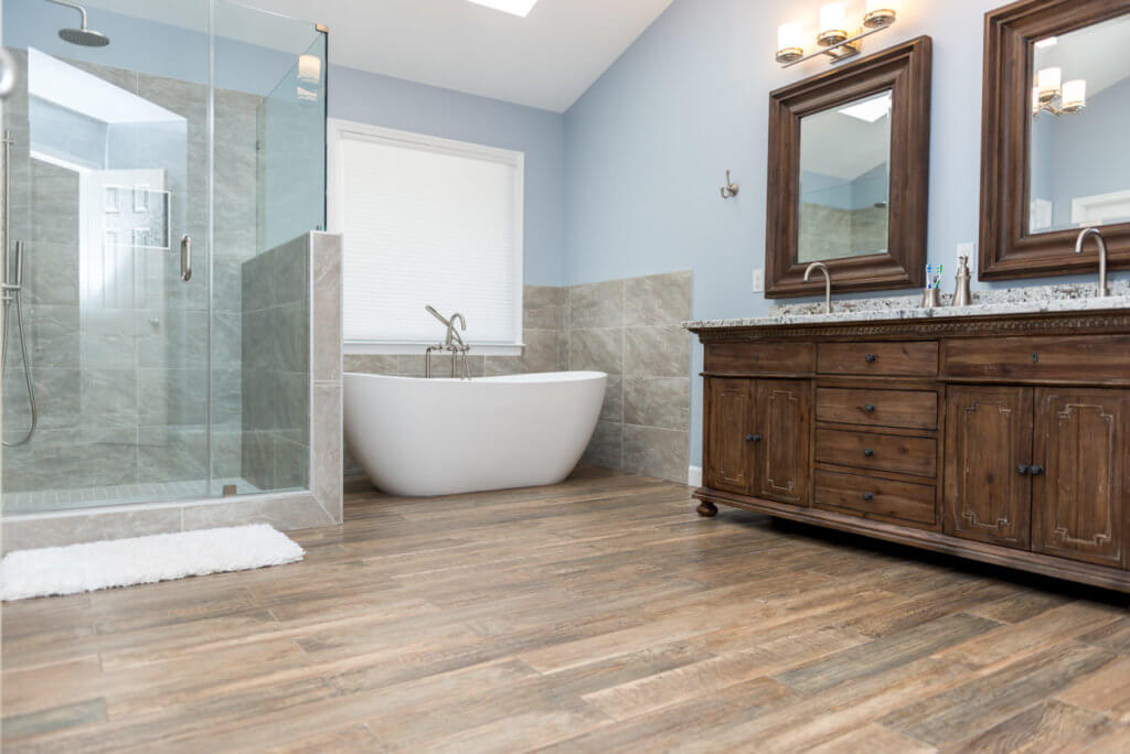 Image Result For Ideas For Bathroom Floors For Small Bathrooms