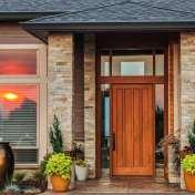 Decorative Contemporary Front Door