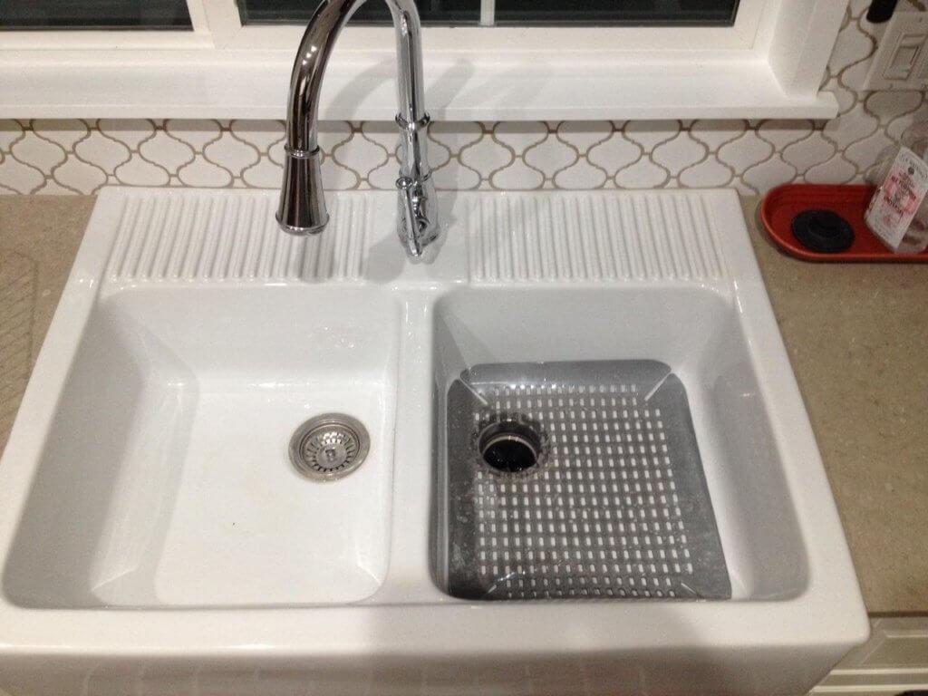 Best Sink Grids For IKEA DOMSJ Farmhouse Sink