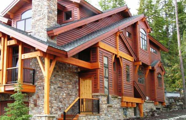 Wood Lap Siding