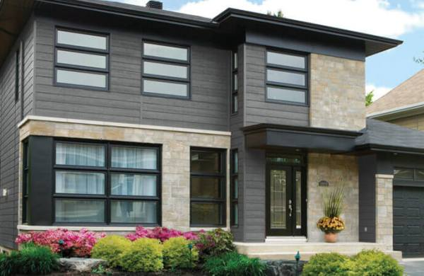 Synthetic Wood Lap Siding