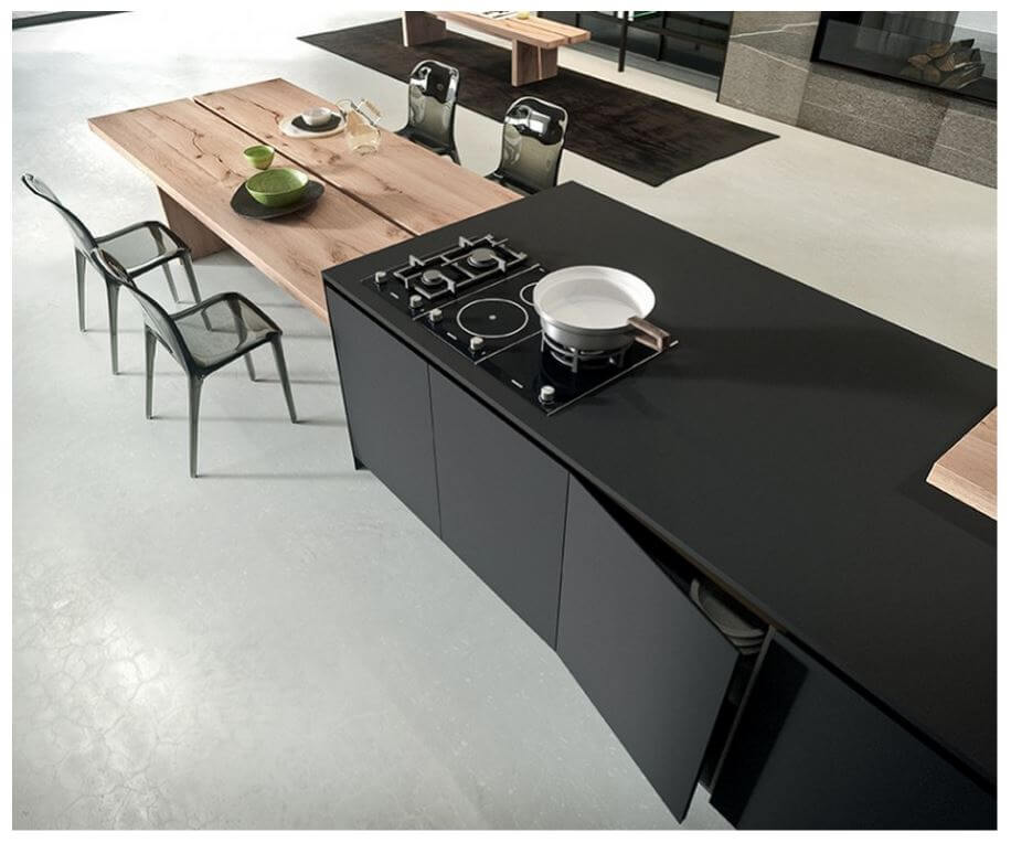 High Tech Nanotech Matt Countertop Material by Arrital